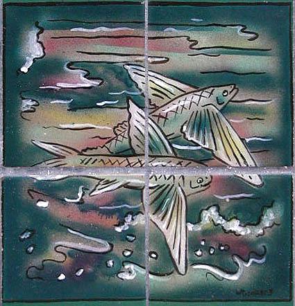 Flying fish 2 tile
