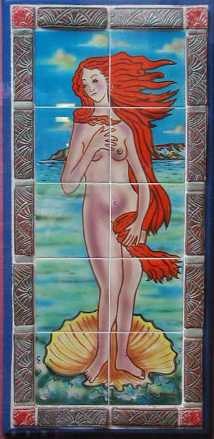 naked lady tile