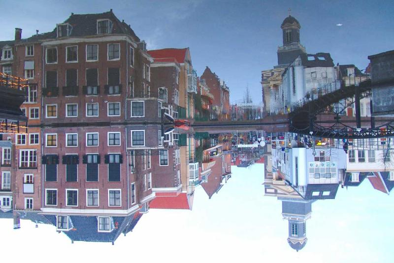Right in the centre of Leiden