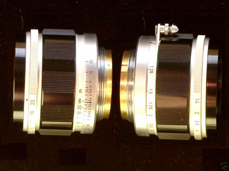 Canon 50/1.4 lens - Side