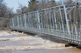 Washington Crossing Bridge - Delaware River Flood