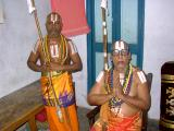 HH Sri Sriperumbudur varada ethirajar jeeyer and Thirumalai chinna jeeyer swamy