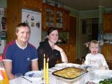 Andreas, Ingebjörg och Amalia