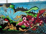 Dublin Graffiti wall