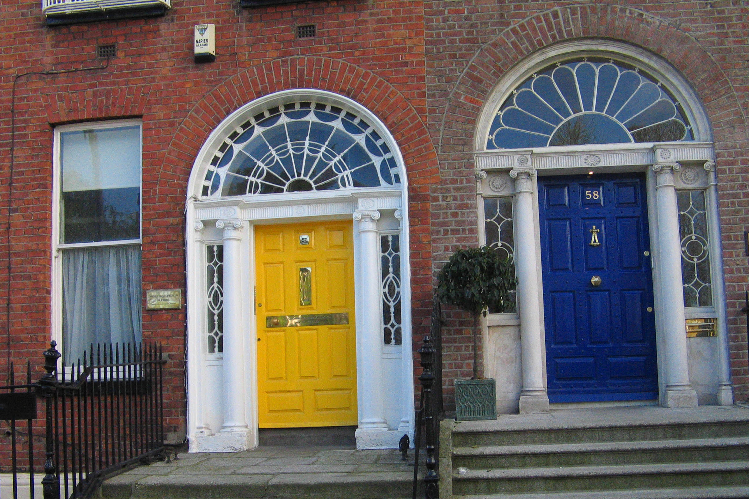 Blue and yellow doors.jpg