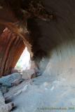 Cave at the base of Uluru