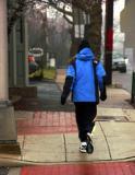 Jogger In The Rain