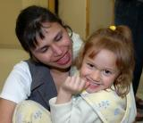 Farhana Hibbert and one of her kids VMG05 0021.jpg
