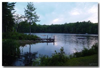 Damariscotta Lake, Maine, USA 2