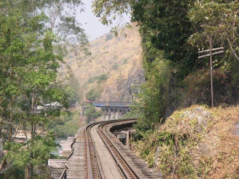 Death Railway Train - Wampo Viaduct