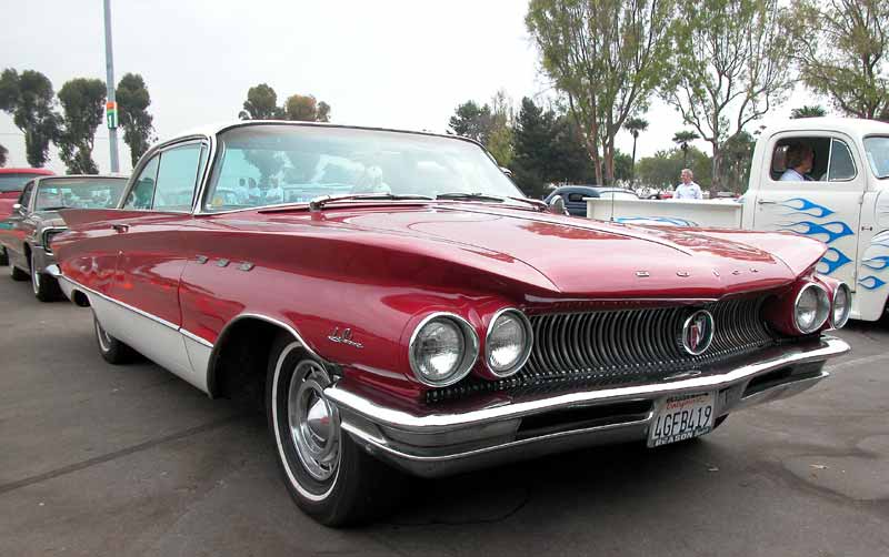1960 Buick LeSabre  - Taken at the Labor Day Cruise 2002 at OC Fairgrounds, Costa Mesa, CA
