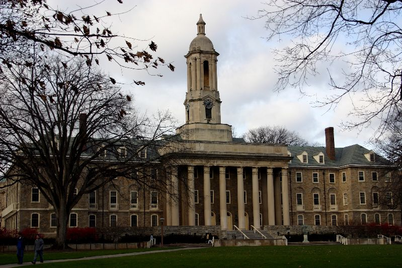 Glory State, Old Main, Penn State University