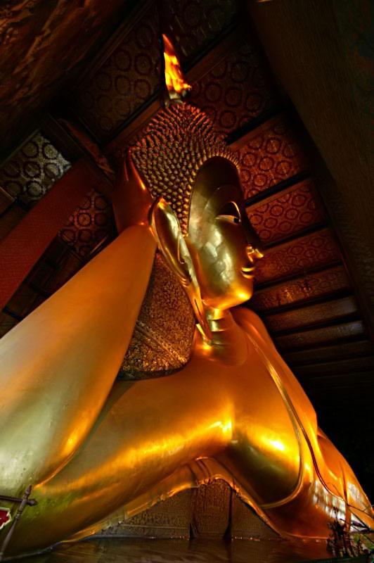Wat Pho, reclining buddha, Bangkok