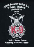 635th SPS K-9 History