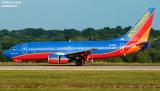 Southwest Airlines B737-7H4 N418WN The Winning Spirit aviation stock photo
