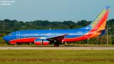 Southwest Airlines B737-7H4 N416WN aviation stock photo