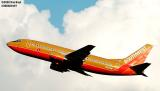 Southwest Airlines B737-3H4 N644SW aviation stock photo