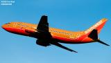 Southwest Airlines B737-3A4 N614SW aviation stock photo