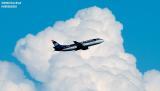 US Airways B737-300 aviation stock photo