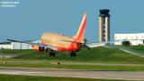 Southwest Airlines B737-7H4 N748SW aviation stock photo