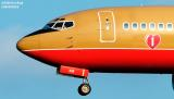 Southwest Airlines B737-3H4 N335SW aviation stock photo