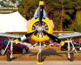 AT-6 aviation air show stock photo