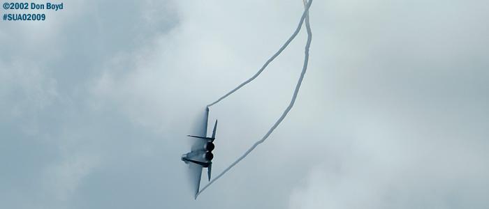USAF F-15C-27-MC Eagle AF80-020 aviation air show stock photo #SUA02009