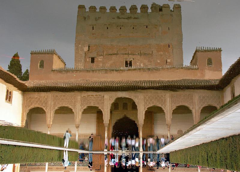 Alhambra - Nasrid Palace reflection