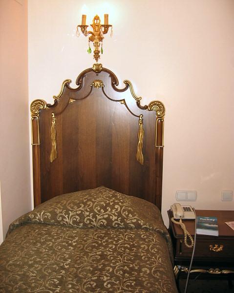 First night in Turkey - definitely not a U.S. Motel 6