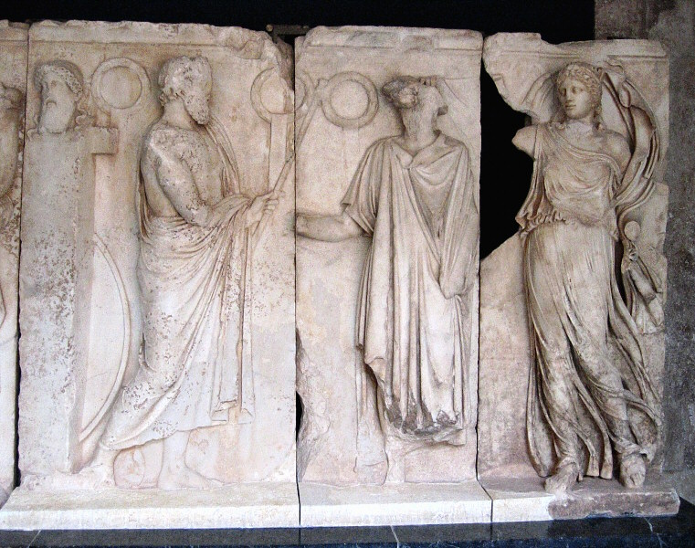 A relief at the Aphrodisias museum
