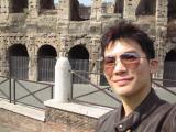 Me in the Colosseum