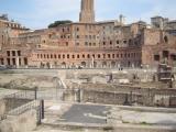 Ruins of buildings....