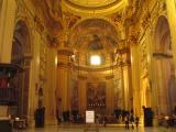 Inside Sant'Andrea della Valle