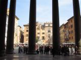 Pillars of Pantheon n Piazza Rotonda