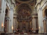 Inside Sant'Ignazio di Loyola