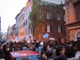 6 a.m. queuing in Vatican to see the Pope