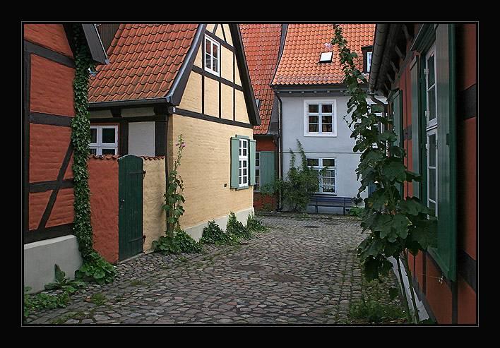 Komplex des Heilgeist Klosters,Stralsund,Germany