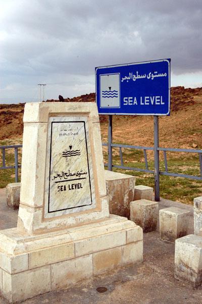 Sea Level marker