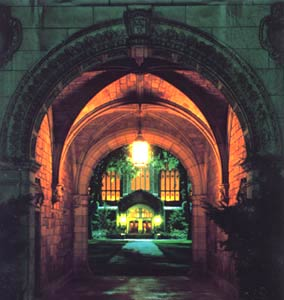 North Entrance to U of M Law Quadrangle