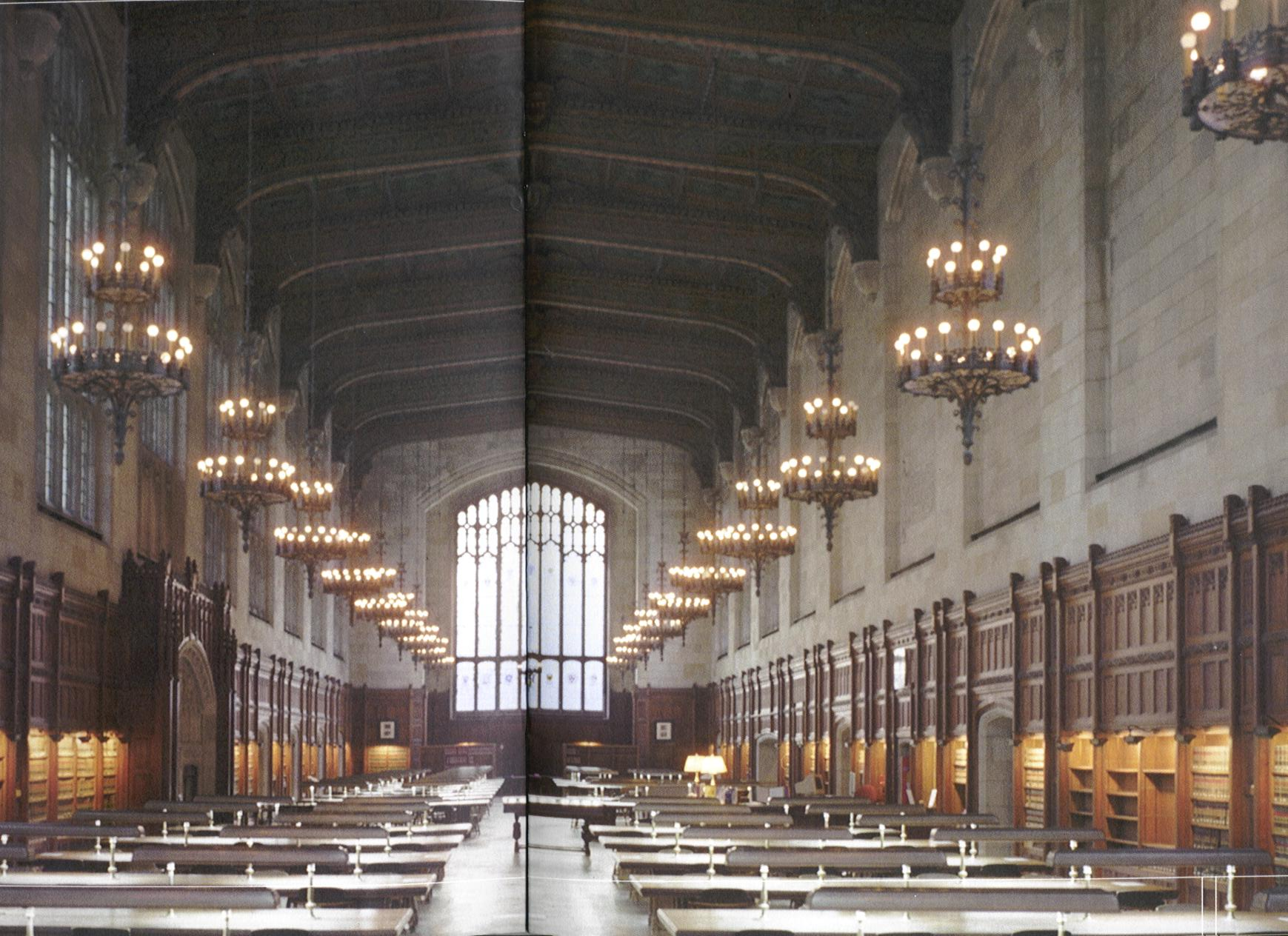 U of M Law Library-reading room