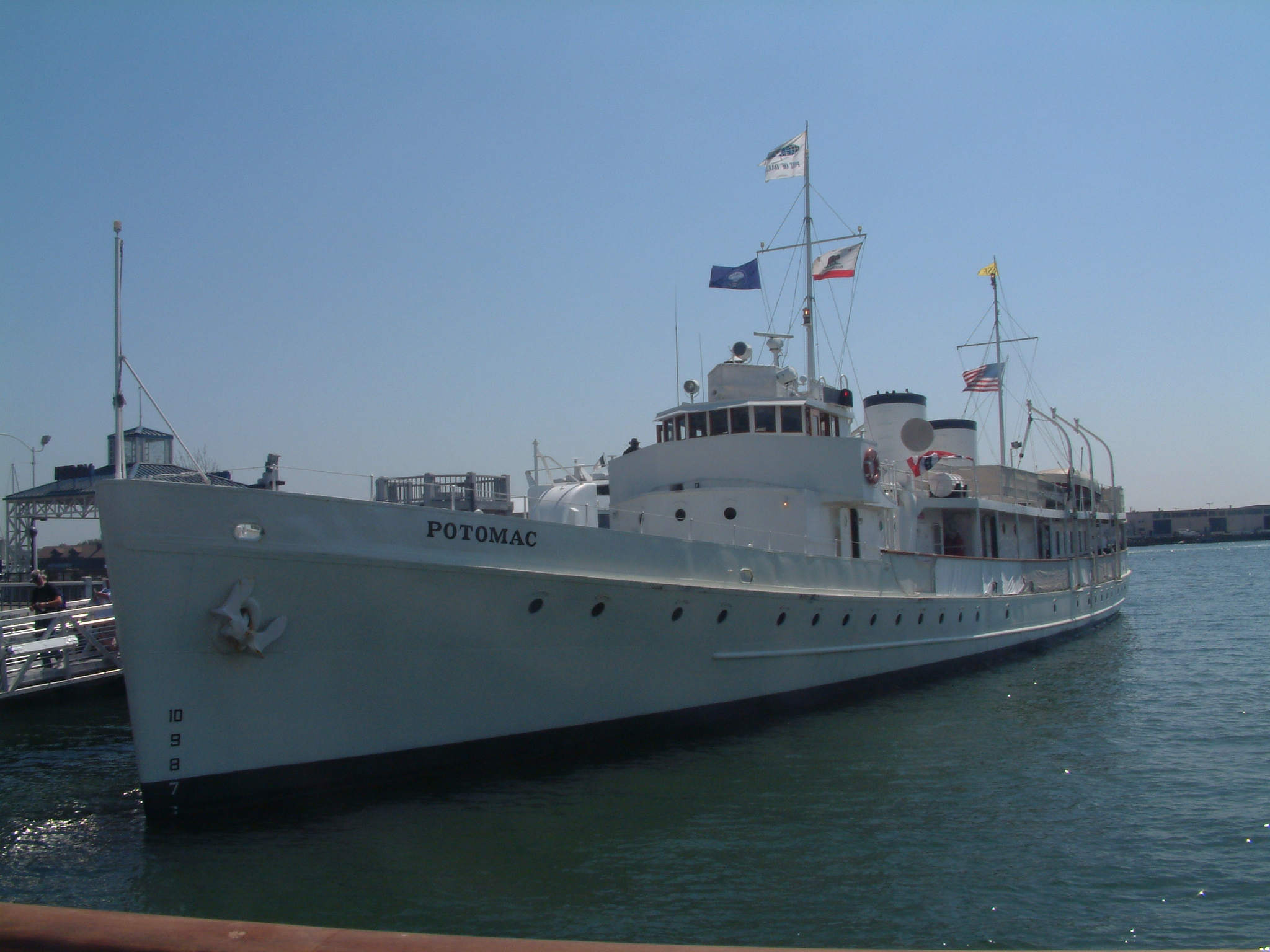 SS Potomac-FDRs Presidential Yacht