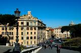 Looking down towards Piazza Venezia