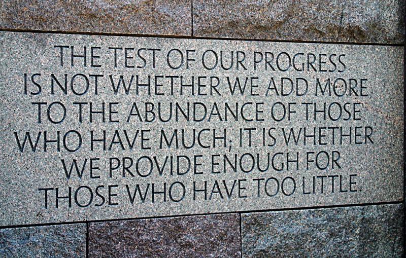 FDR memorial, Washington, DC
