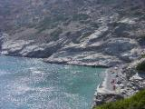 ...leaving the grey-coloured beach of Mouros for another day...