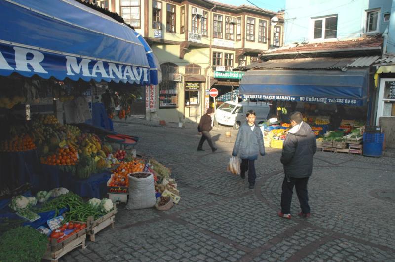 Bursa on a winter morning