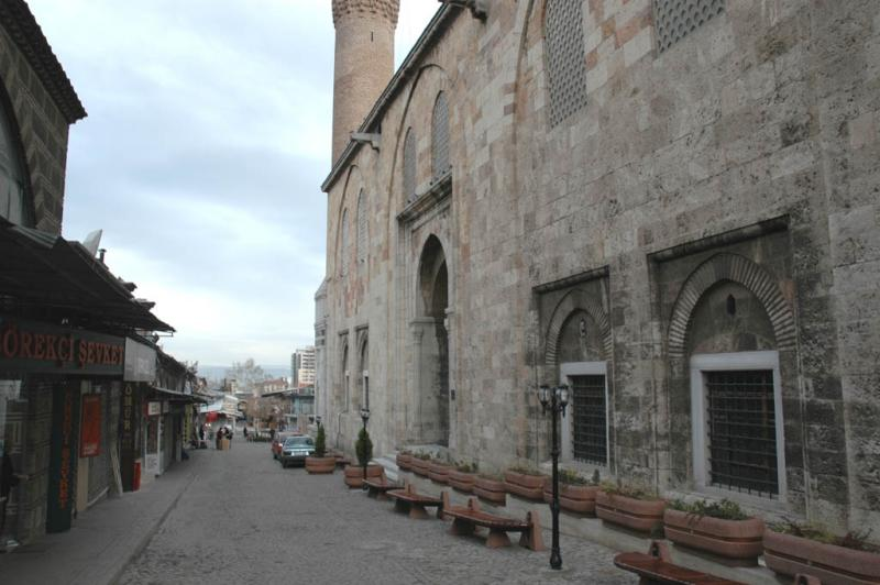 Bursa Ulu Mosque side