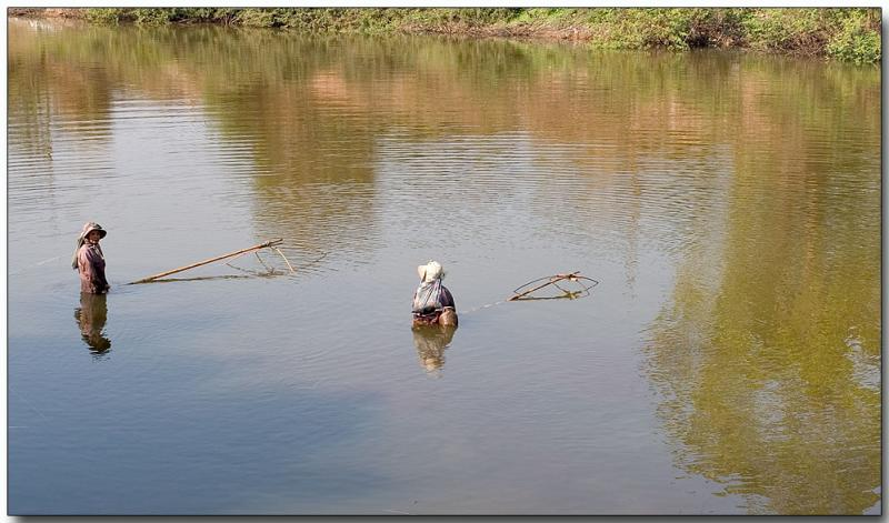 River fishing - Chiang Rai