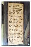 Blow Me Down Covered Bridge - No. 23