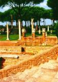 Ostia, - Ruins of Roman Amphitheatre