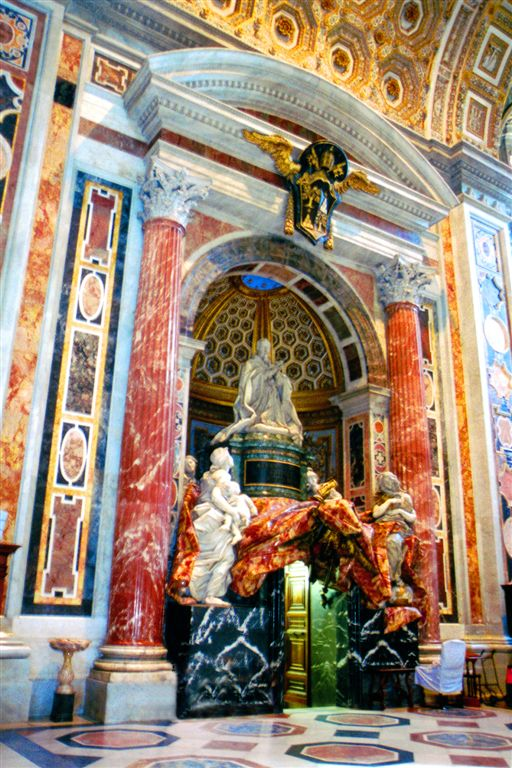 Rome,- Inside of St.Paul Cathedral